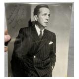 Signed Humphrey Bogart Photo To Mark Gilette