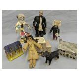Miniature Houses, Kachina Doll, For Figurines Etc