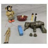 Vintage Toys. San Tim Litho Battery Operated