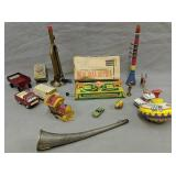 Vintage Toys. Russian Tin Litho, Horns, Tonka C
