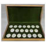 Ducks Unlimited .999 Fine Silver Medallions
