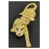 Unmarked Swarovski? Crystal Brooch Pin