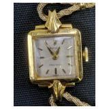 Ladies 18k Gold Rolex Precision Watch
