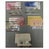 1999, 2001 Uncirculated Us Mint Coin Sets