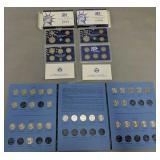 1999 Us Mint Proof Sets, Partial Washington