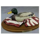 Ducks Unlimited American Mallard Resin Decoy