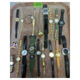 Mickey Mouse, Minnie Mouse Watches Etc