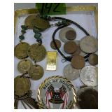 Foreign Coins, Bell Of Honor Medallion,