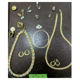 Costume Jewelry. Necklaces Earrings Etc
