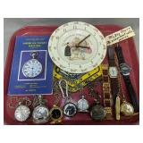 Pocket Watches, Mickey Mouse Steamboat Willie