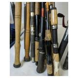 Fishing Rods. Guide Pro, Bill Smith, Oceanic Etc
