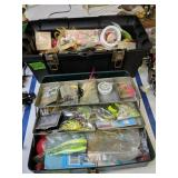 Pair Of Tackle Boxes With Tackle