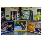 Shelf Lot Pez Lunch Boxes
