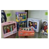 Shelf Lot Pez Collector Series. Tigger And Pooh,