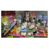 Shelf Lot Pez Stuffed Animal Candy Dispenser