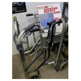 Medical Items. Bathtub Safety Rail, Walker,