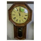Hamilton Oak Kitchen Wall Clock, Westinghouse