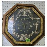 "23.5"" Victorian Style Octagonal Wall Clock"