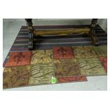 3 Area Mats, Rug 33x20, 40x60-in