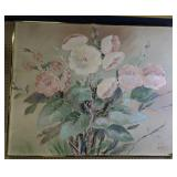 Lee Reynolds Of California Oil On Canvas Flower
