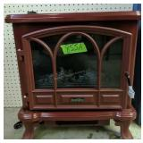 Brick Red Duraflame Electric Fireplace Heater