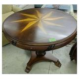 Inlay Star Top Round Table 36x29 In