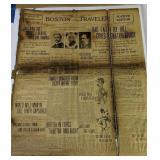 Boston Traveler Newspaper July 6th 1904
