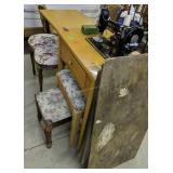 Singer 99k Sewing Machine, Selling Table, Vanity