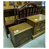 Side Tables, Daybed Headboards, Media Cabinet