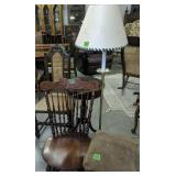 Piano Stool, Floor Lamp, Rocking Chair, Side