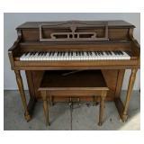 "Melodigrand Upright Piano 41.5x23.5x37"" Tall"