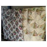Queen Size Quilt And Comforters W Pillow Shams