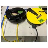 Pair Of Pull-down Shop Electric Cords