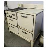 "Quality Porcelain Enamel Gas Stove 40x22x41"" Tall"