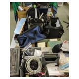 Ammo Box, Wiring, Masonry Nails, Tool Bags, R