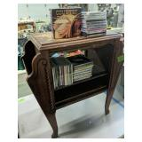 Mahogany Stand With Cds