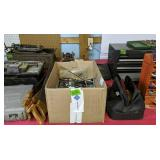 Hand Saws, Tool Boxes, C-clamps, Table Router,