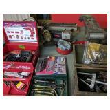 Hilti Hammer Drill, Bits, Torch, Grinder,