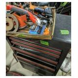 Craftsman Tool Chest, Soldering Irons, Work