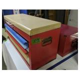 Pair Of Tool Boxes, Hole Saws