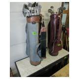 Golf Clubs, Golf Bag Table/bar