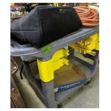 Plastic Rolling Cart, Insulated Tote, Extension
