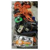 Extension Cords, Reels, Work Lights Etc