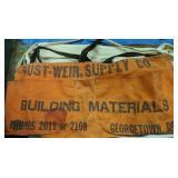 Advertising Nail Aprons. Rustware Supply Co