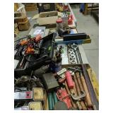 Table Lot Flares, Ignition Testers, Tool Boxes,