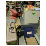 Table Lot Pressure Tester, Heater, Torch,