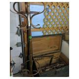 Green Tool Chest With Tools, Hall Tree