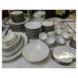 Noritake Silverdale 5594 Dish Set, Service For