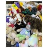 Large Ty Beanie Baby Stuffed Animals Etc