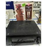 Sony Str-da1es Stere Receiver, Chocolate Fountain